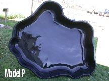 Model P Fiberglass Pond
